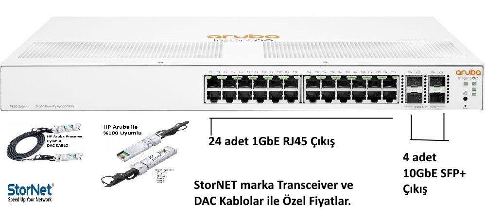 HPE JL682A ARUBA ION 1930 24G 4SFP+ Switch