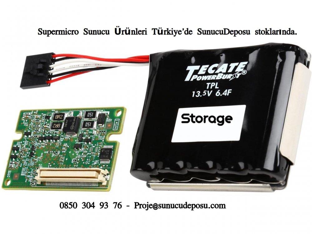 Supermicro AOC-S3108L-H8iR RAID Kart için BTR-TFM8G-LSICVM02 LSI SuperCap BBU Pil