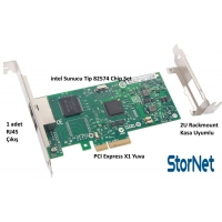 1 Port Ethernet Kart intel 82574 Chip 1 Gb/s
