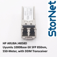 HP ARUBA J4858D Uyumlu 1000Base-SX SFP 850nm, 550-Meter, with DDM Transceiver