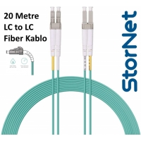 StorNET LC TO LC OM3 KABLO 20 METRE PATCH