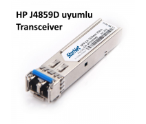HP J4859D Uyumlu 1000Base-LX (LC-20Km-1310nm-Single-Mode) Sfp Transceiver