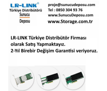 LREC9724PT Lr-Link Dört Port RJ45 1 Gigabit Ethernet Kartı Intel I350 ChipSet