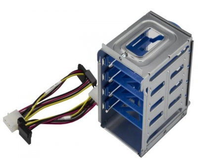 "MCP-220-73201-0N Supermicro HDD/SSD Cage Includes 4 Internal 2.5"" HDD/SSD"