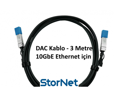 Dac Kablo 3 Metre for Cisco Supermicro Dell D-Link