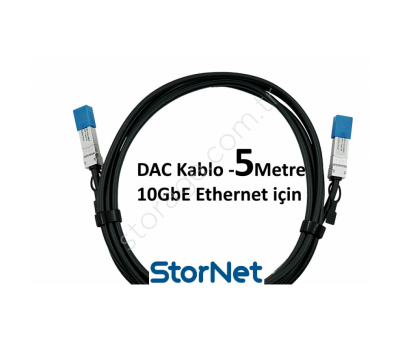 Dac Kablo 5 Metre for Cisco Supermicro Dell D-Link
